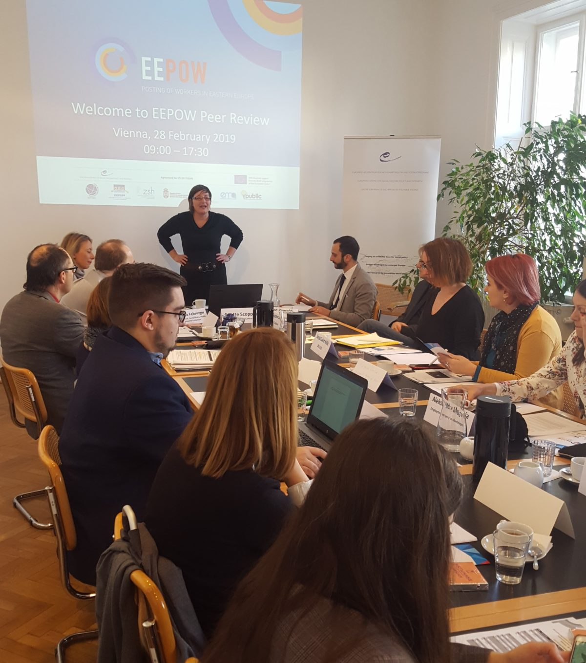 EEPOW Peer Review on guaranteeing posted workers' rights, Vienna, Austria