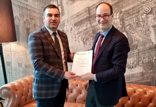 The European Centre signed the MoU with the Employment Agency of Kosovo (EARK)