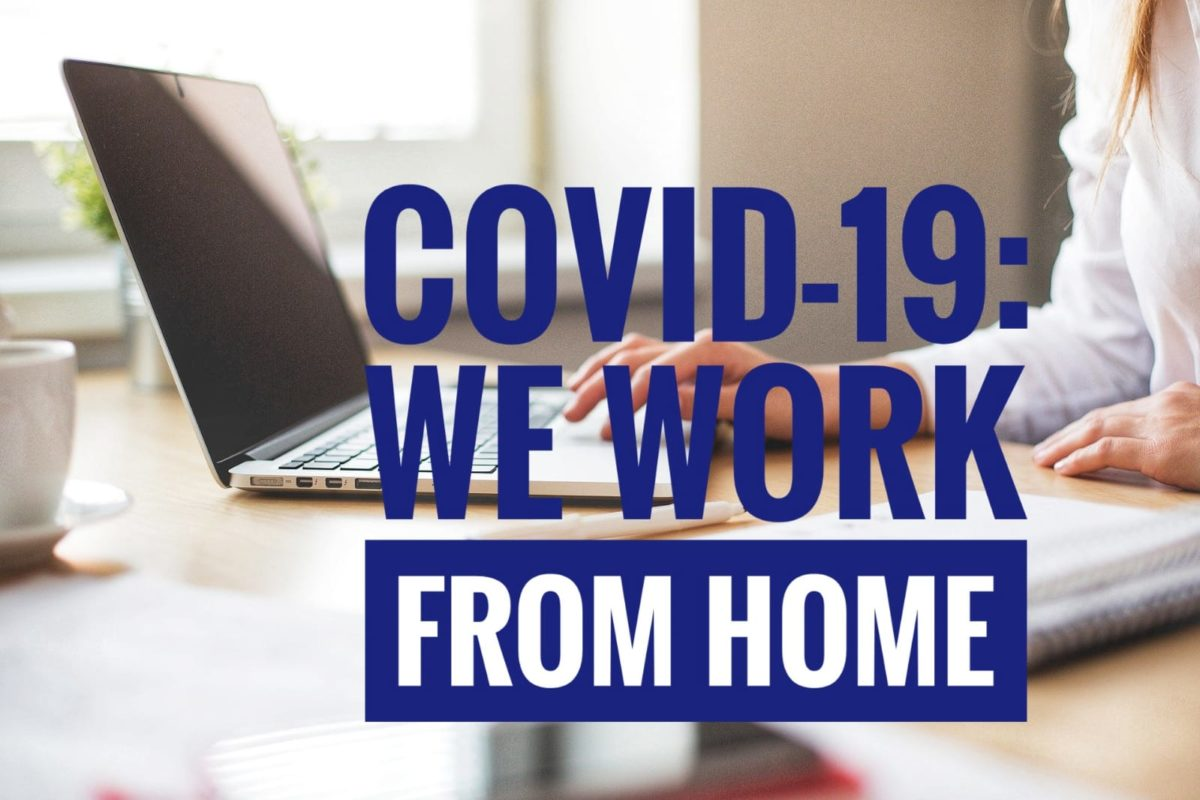 COVID-19 emergency: We continue our research activities from home