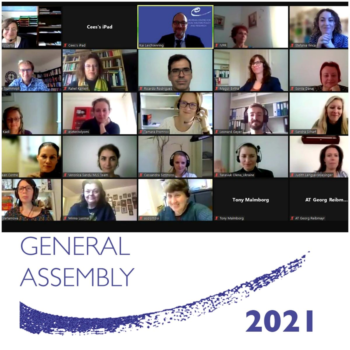 47th General Assembly Meeting 2021: Successful focus on intergovernmental cooperation